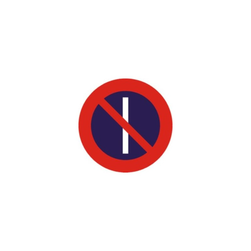 R308A-Estacionamiento prohibido los días impares