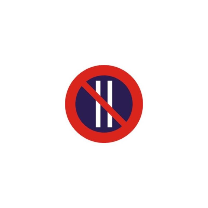R308B-Estacionamiento prohibido los días pares