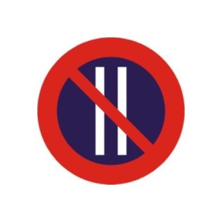 Estacionamiento prohibido los días pares