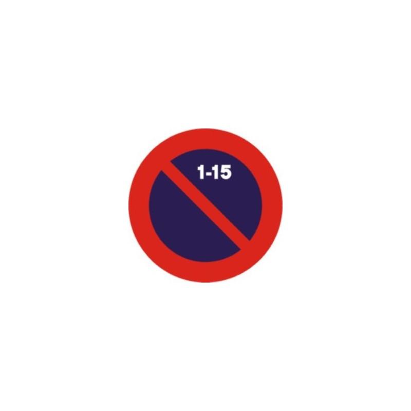 R308C-Estacionament prohibit la primera quinzena
