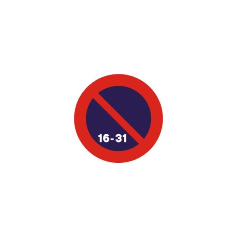 R308D-Estacionament prohibit la segona quinzena