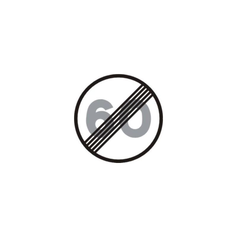 R501-Fin de la limitación de velocidad