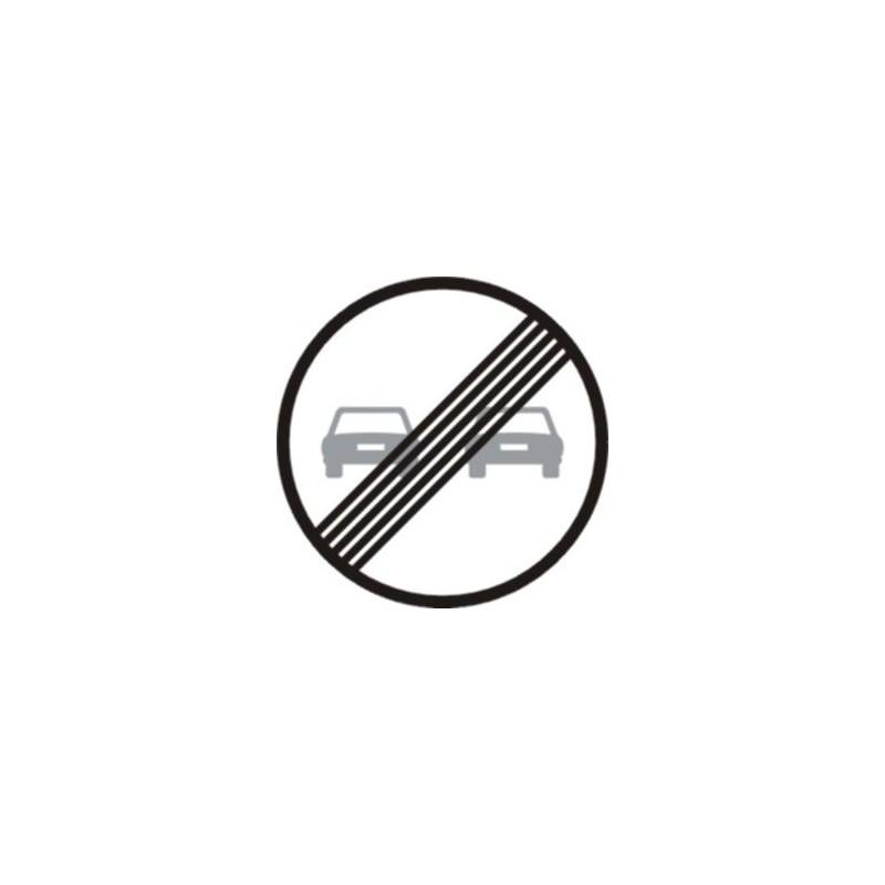 R502-Fin de la limitación de adelantamiento