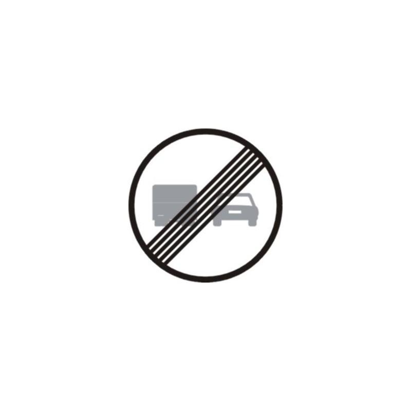 R503-Fi de la prohibició d'avançament per a camions