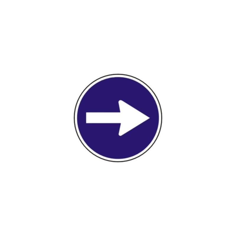 R400A-Sentido obligatorio - R400A