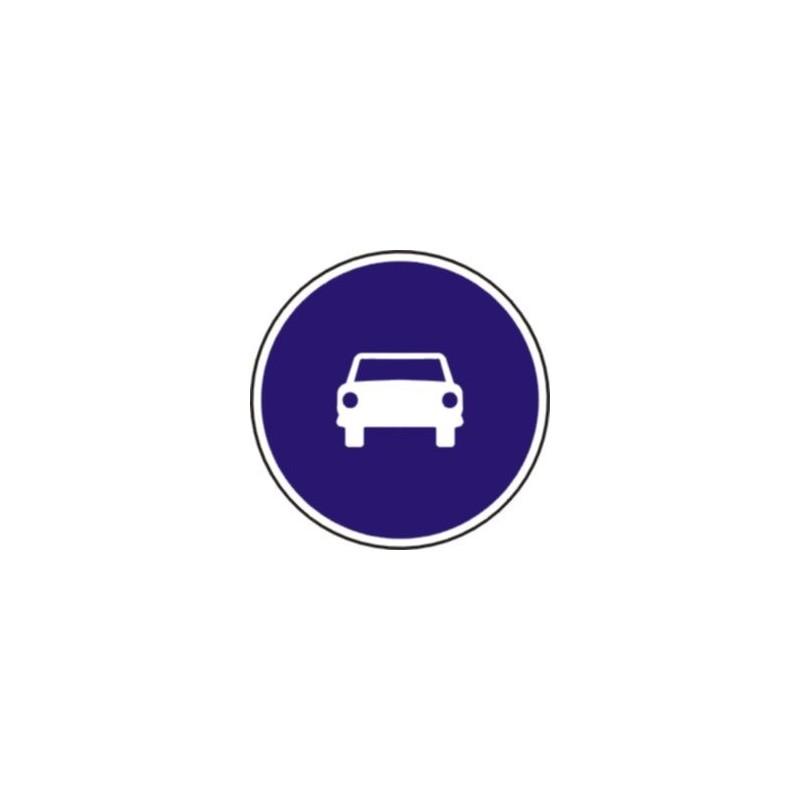 R404-Calçada per a automòbils excepte motocicletes de dues rodes sense sidecar