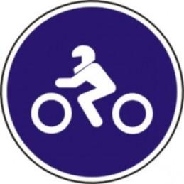 Calçada motocicletes de...