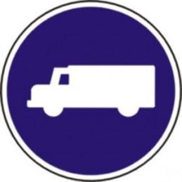 Calzada para camiones