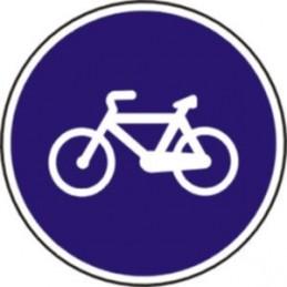 Camino reservado para ciclos