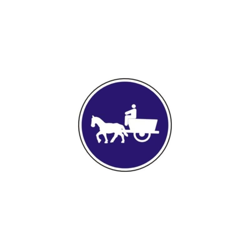 R408-Camino para vehículos de tracción animal