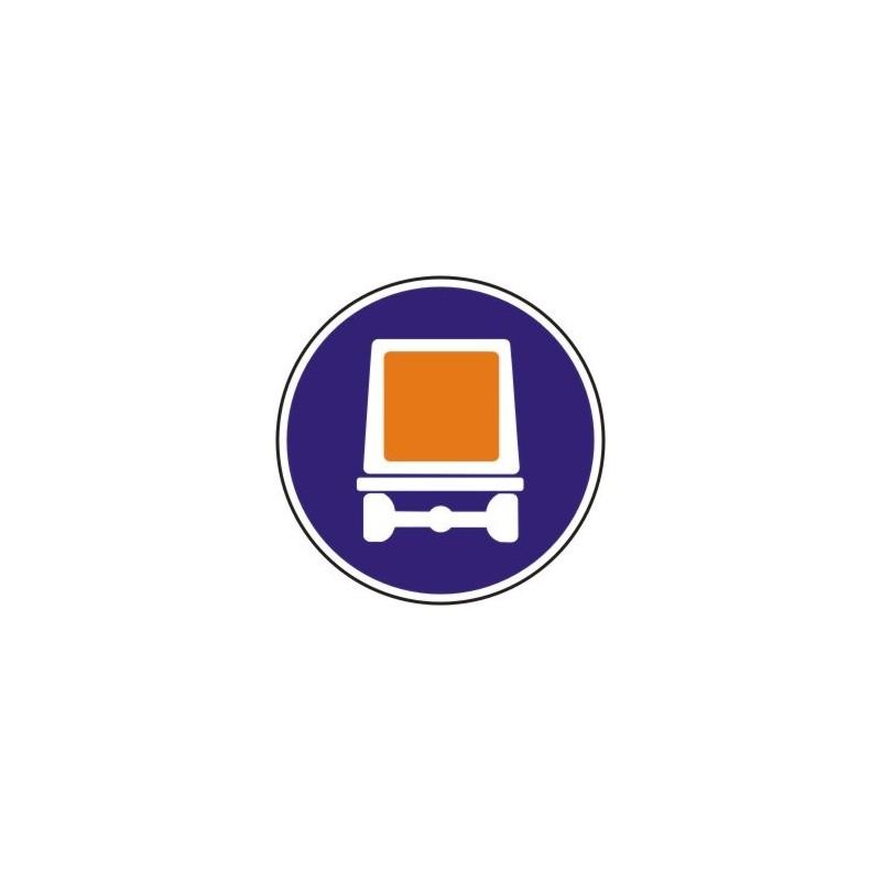 R414-Entrada obligatòria a vehicles que transportin mercaderies perilloses