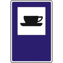 Señal Vial Cafetería -...