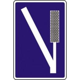 Señal Vial Zona de frenado...
