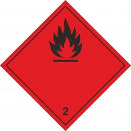 SYSSA - Tienda Online - Etiquetas Gases inflamables marginal 2