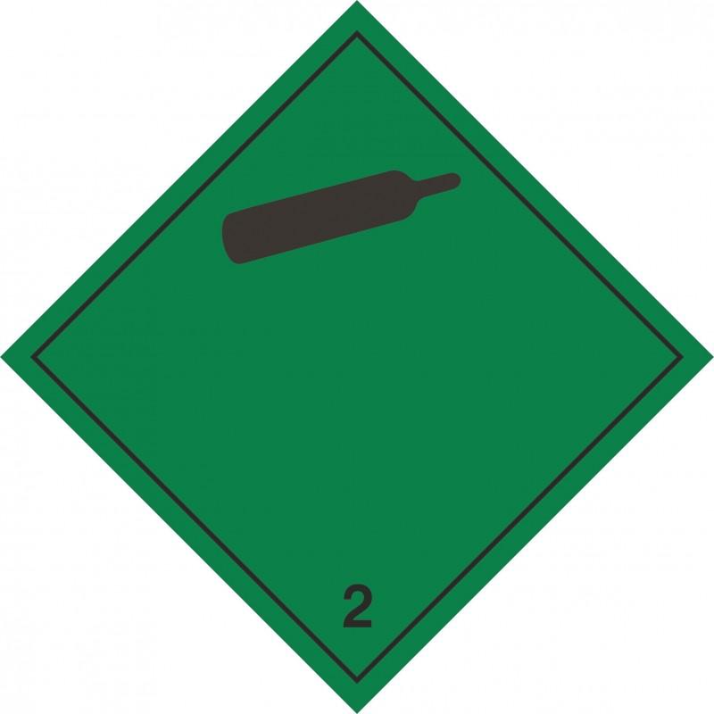 022AS-Etiquetas Gases no inflamables marginal 2