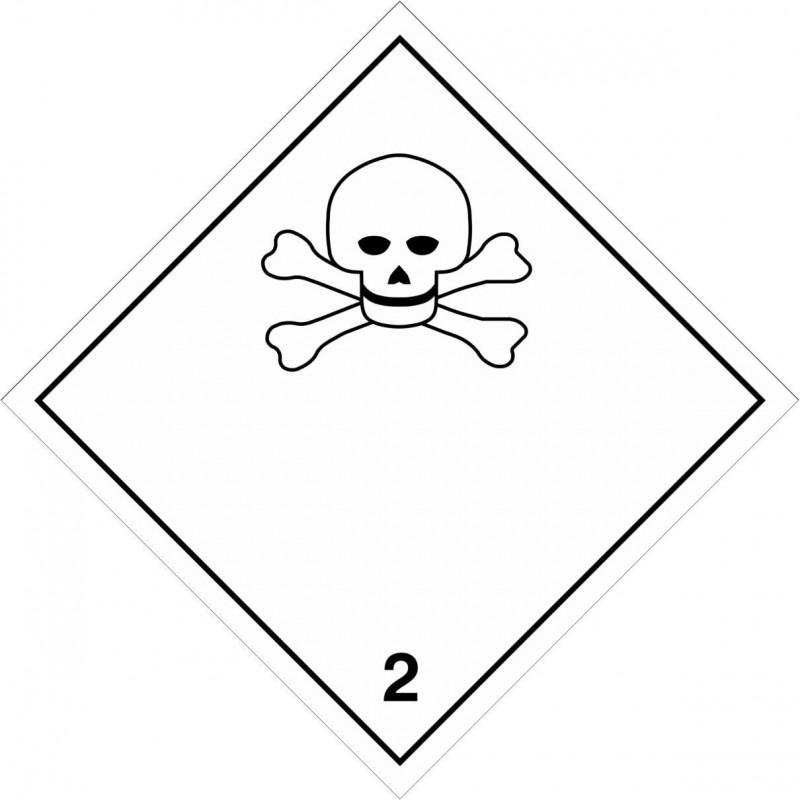023AS-Etiquetas ADR Gases tóxicos marginal 2