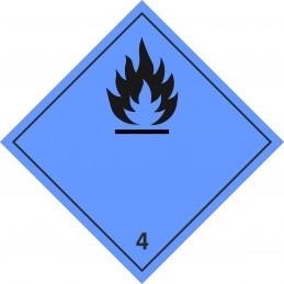 SYSSA - Tienda Online - Etiquetas Emanación gas inflamable marginal 4