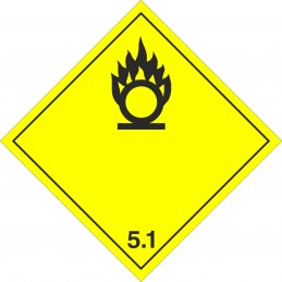 SYSSA - Tienda Online - Etiqueta ADR Materias Comburentes marginal 5.1