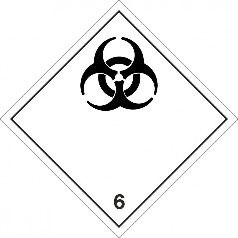 062AS-Etiquetas ADR Materias infecciosas marginal 6