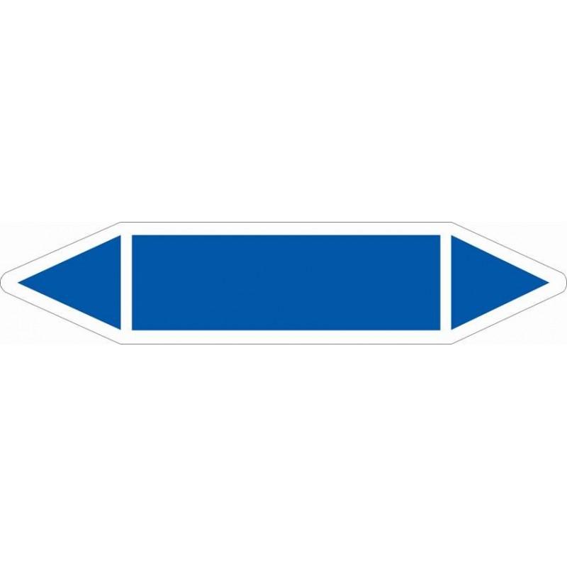 TUB00ST-Etiquetas tuberías color Azul sin texto