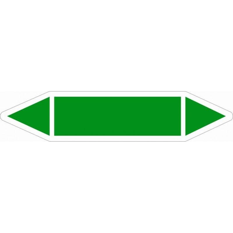 TUB01ST-Etiquetas tuberías color Verde sin texto