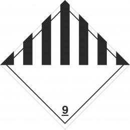 SYSSA - Tienda Online - Etiquetas adhesivas de Peligros diversos marginal numero 9