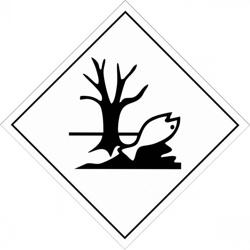 150AS-Etiquetas ADR Contaminante al medio ambiente