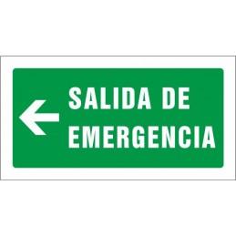 Sortida d'emergència esquerra