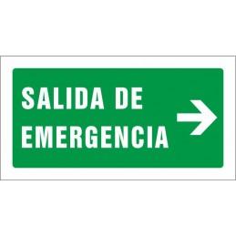 SYSSA,Señal Salida de emergencia derecha