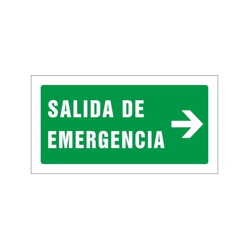 504S-Señal Salida de emergencia derecha - Referencia 504S
