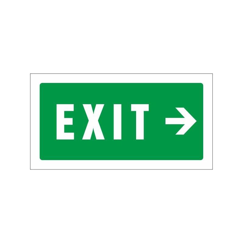 507S-Cartel Exit derecha - Referencia 507S