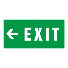 Senyal Exit esquerra -...