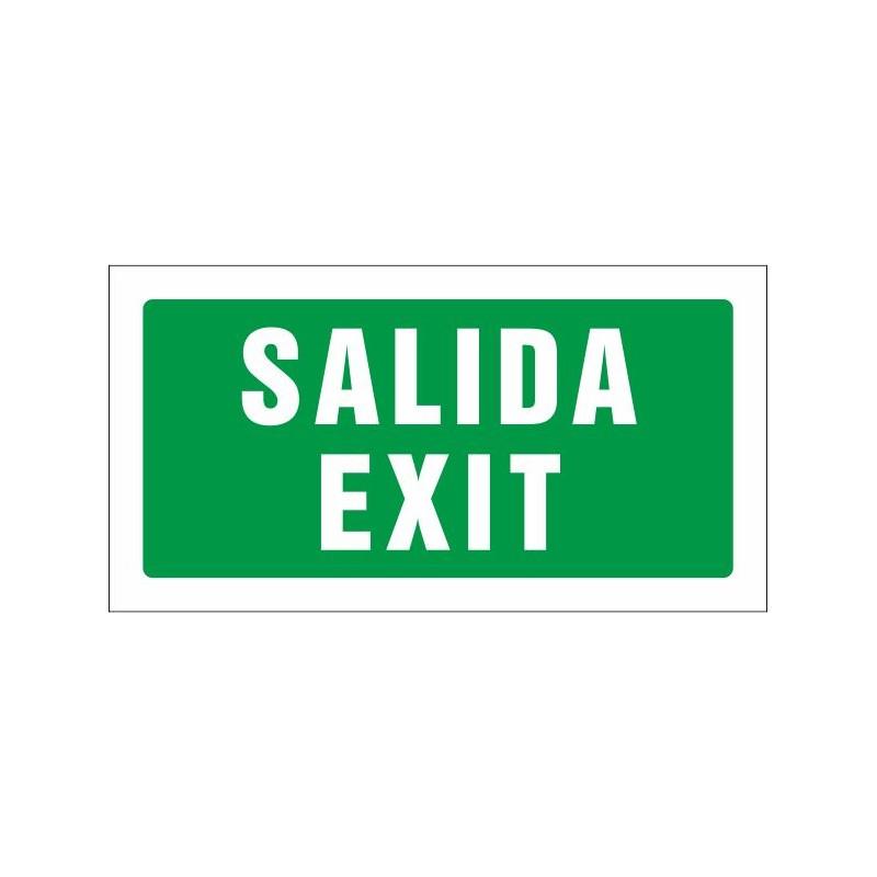 509S-Cartel Salida Exit - Referencia 509S