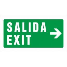 Senyal Sortida Exit dreta -...