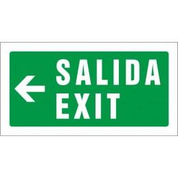 SYSSA,Señal Salida Exit izquierda