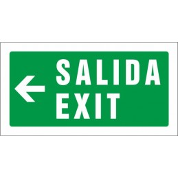 Sortida Exit esquerra