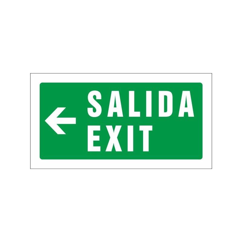 511S-Salida Exit izquierda