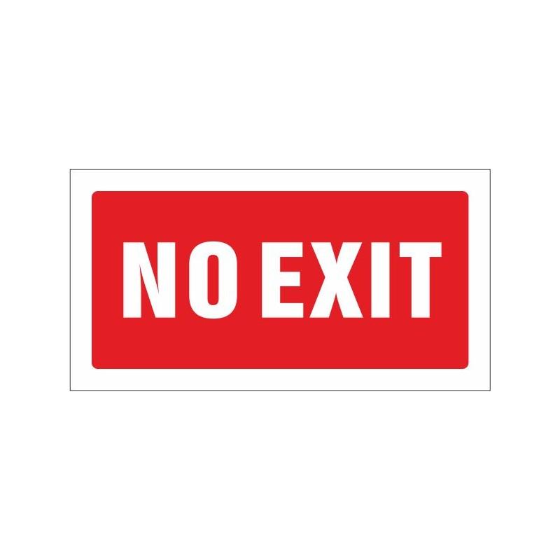 516S-Cartel No exit - Referencia 516S