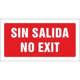 Sense sortida. No exit