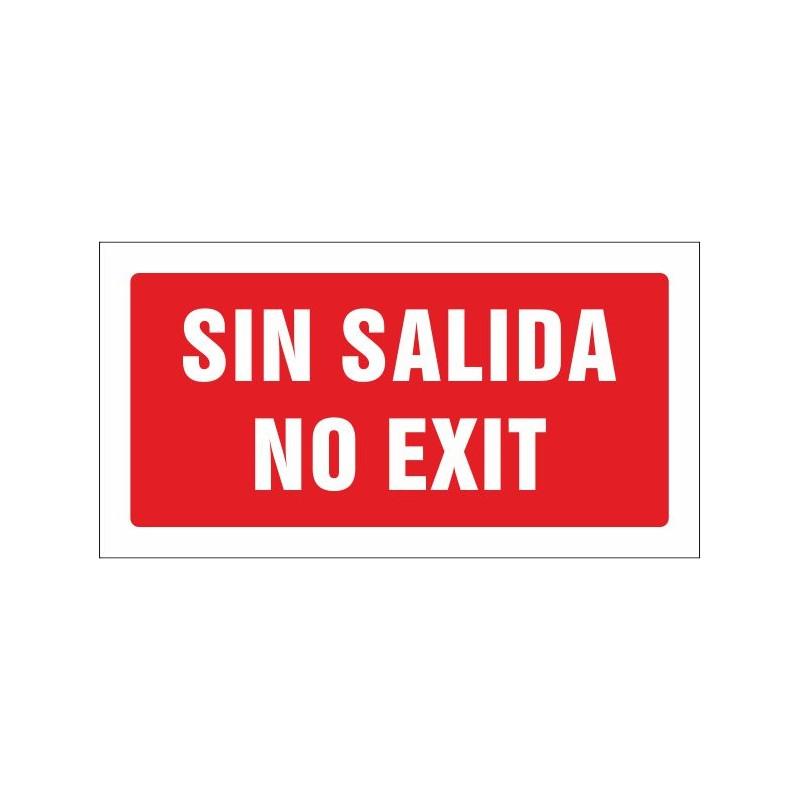517S-Cartel Sin salida. No exit - Referencia 517S