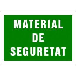 SYSSA,Señal Material de seguridad
