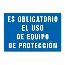 SYSSA,Señal Es obligatorio el uso de equipo de proteccion