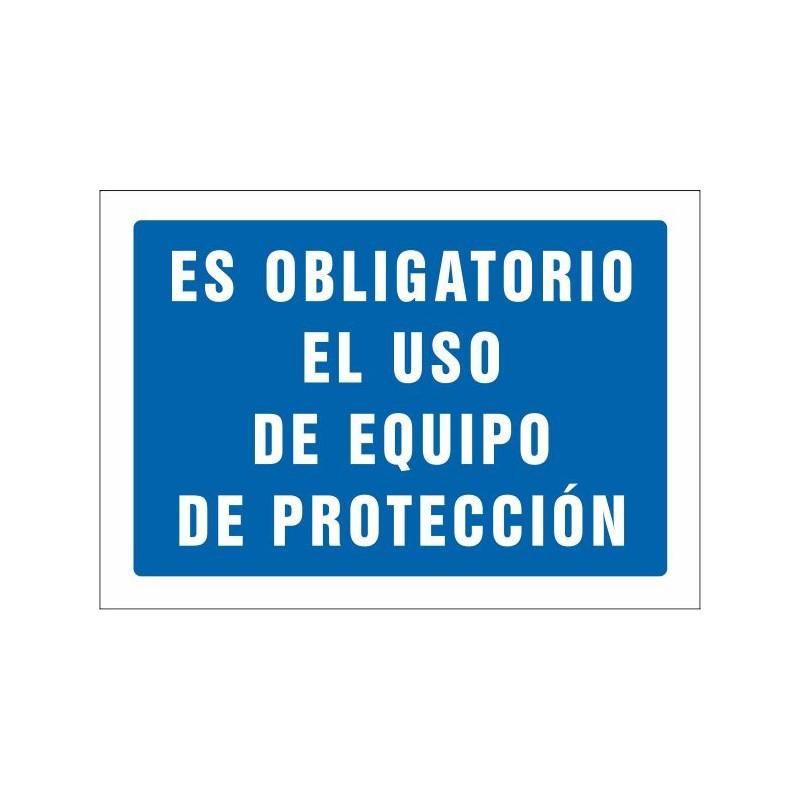 650S-Señal Es obligatorio el uso de equipo de protección - Referencia 650