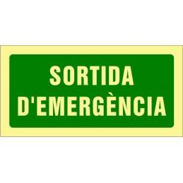 SYSSA,Señal Salida de emergencia