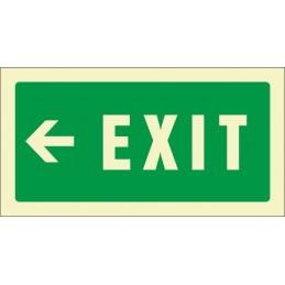 Senyal Exit esquerra...