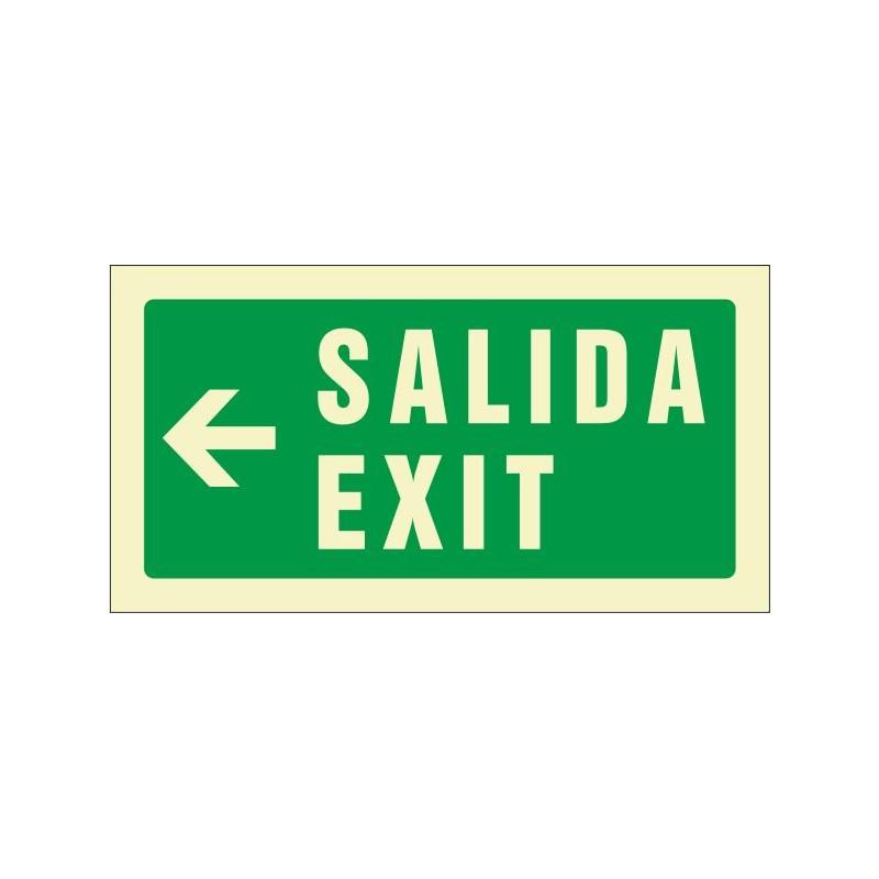 511F-Sortida Exit esquerra