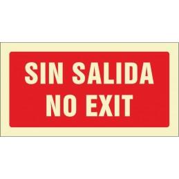 SYSSA,Señal No hay salida. No exit