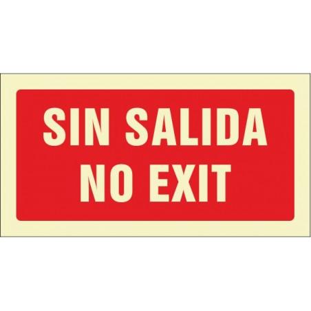 Sin salida. No exit