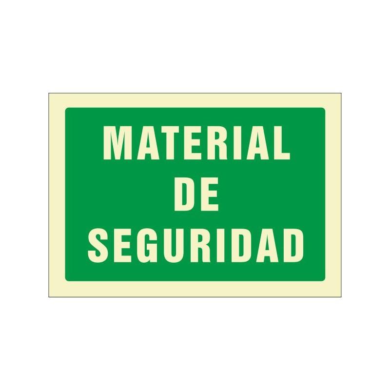 553F-Cartel Material de seguridad Fotoluminiscente - Referencia 553F