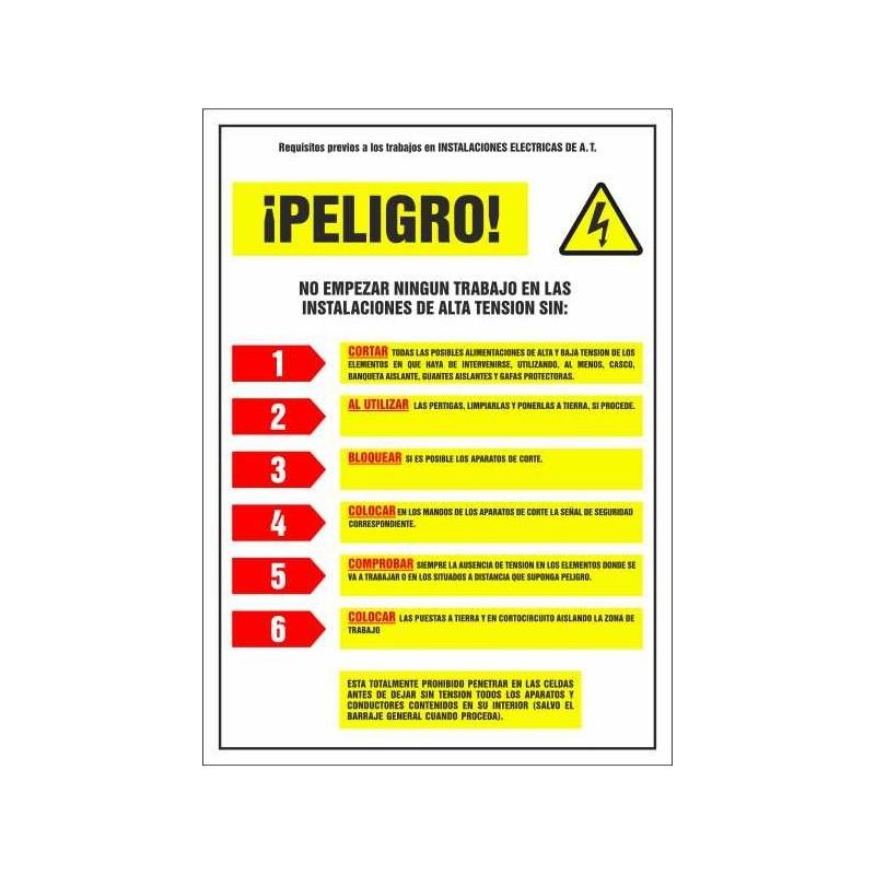 0RTE-Senyal requisits previs instal·lacions elèctriques